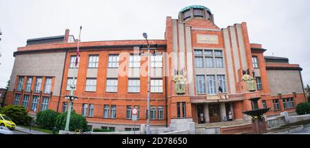 The East Bohemian Museum in Hradec Kralove, Czech Republic, May 31, 2020. The museum was built according to the project of Jan Kotera in 1909-1912, th