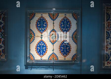 Ceramic Tiles from Ottoman Empire - Stock Photo
