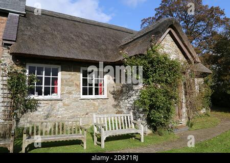 Pales Quaker Meeting House, Llandegley, Llandrindod Wells, Radnorshire, Powys, Wales, Great Britain, United Kingdom, UK, Europe - Stock Photo