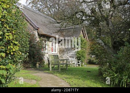 Pales Quaker Meeting House, Llandegley, Llandrindod Wells, Radnorshire, Powys, Wales, Great Britain, United Kingdom, UK, Europe - Stock Photo
