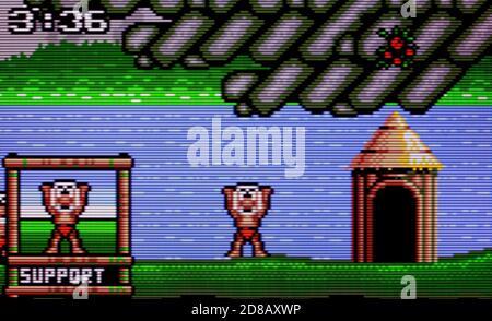 Dinolympics - Atari Lynx Videogame - Editorial use only - Stock Photo