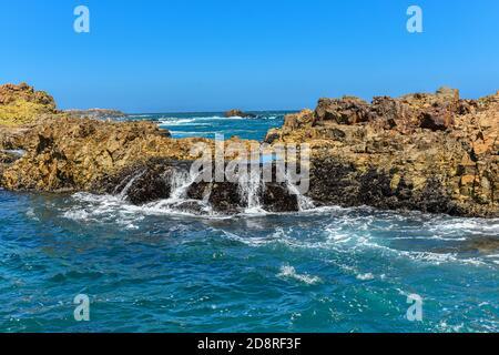 Rocks in the Sea, Knysna Heads, Garden Route, South Africa