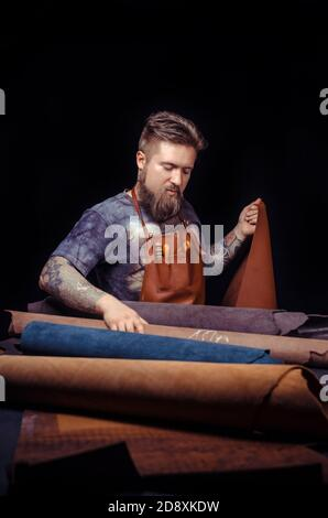Leather Tanner creates quality product of leather