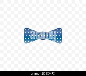 Bow tie, dress code icon. Vector illustration.