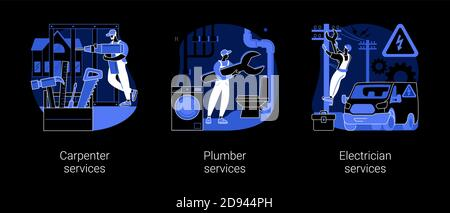 Home renovation abstract concept vector illustrations. - Stock Photo