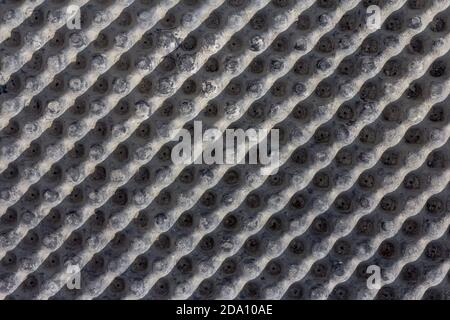 Industrial background. Material for waterproofing close-up. The use of modern technologies for waterproofing foundations of buildings and roads.
