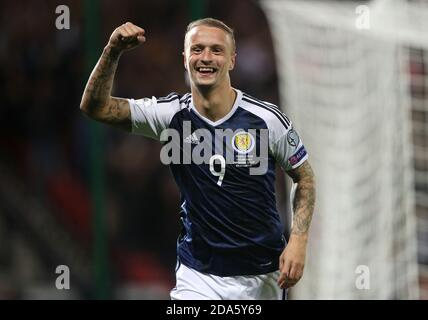 File photo dated 04-09-2017 of Scotland's Leigh Griffiths.
