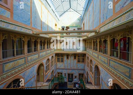 Ancien Manège one of La Chaux-de-Fonds architectural jewels. Canton Neuchâtel, Switzerland.