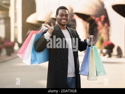 Seasonal sale, Black Friday and shopaholic concept