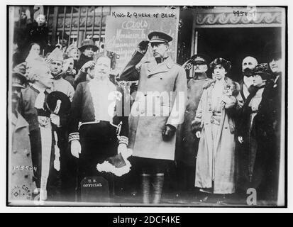 King & Queen of Belg. (i.e. Belgium)