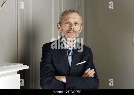 File picture, dated on November 10, 2017, Pierre Mathiot posing during a photo session in Ronchin near Lille, France. Photo by Sylvain Lefevre/ABACAPRESS.COM - Stock Photo