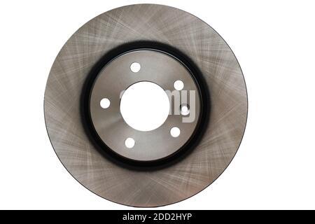 Brand new brake discs for a sedan, 5 holes, 114.3 split in white.