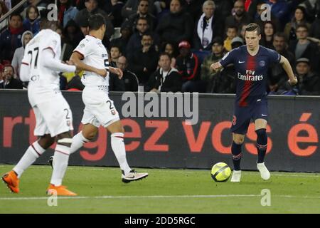 PSG's Julian Draxler during the French First League soccer match, PSG vs Rennes in Parc des Princes, France, on May 12th, 2018. PSG won 5-0. Photo by Henri Szwarc/ABACAPRESS.COM