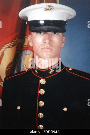 NO FILM, NO VIDEO, NO TV, NO DOCUMENTARY - Undated picture of U.S. Marine Pfc. Ryan Jerabek was one of the Marines of Echo Company, 2nd Battalion 4th Marines killed in April 2004 in fighting in Ramadi, Iraq. Photo courtesy the Jerabek family/Philadelphia Inquirer/KRT/ABACA.