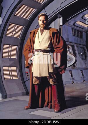 NO FILM, NO VIDEO, NO TV, NO DOCUMENTARY - Obi-Wan Kenobi (Ewan McGregor) in his Jedi robes, in Star Wars. Photo by KRT/ABACAPRESS.COM