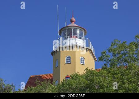 geography / travel, Denmark, Zealand, isle Mon, lighthouse on the isle Mon, Zealand, Denmark, Nordeurp, Additional-Rights-Clearance-Info-Not-Available