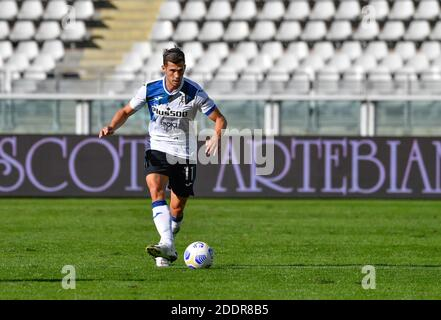 Torino, Italy. 26th, September 2020. Remo Freuler (11) of Atalanta seen in the Serie A match between Torino and Atalanta at Stadio Olimpico in Torino. (Photo credit: Gonzales Photo - Tommaso Fimiano). - Stock Photo
