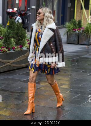 Non Exclusive: Ashley Roberts, Global Radio Studios, London, UK, 01 December 2020, Photo by piQtured Stock Photo