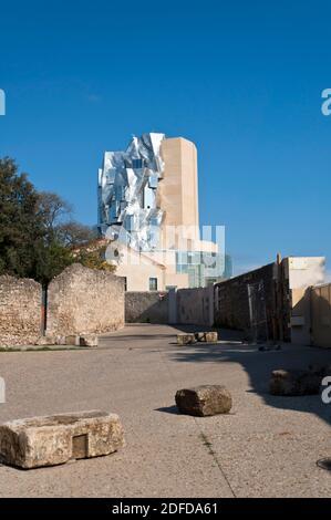 Arles, Luma Tower by Frank Gehry architect, Bouches-du-Rhône, Provence-Alpes-Côte d'Azur, France