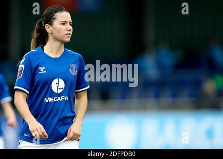 Liverpool, UK. 06th Dec, 2020. Damaris Egurrola of Everton looks on. Barclays Women's super league match, Everton Women v Manchester City Women at Walton Hall Park in Liverpool on Sunday 6th December 2020. this image may only be used for Editorial purposes. Editorial use only, license required for commercial use. No use in betting, games or a single club/league/player publications.pic by Chris Stading/Andrew Orchard sports photography/Alamy Live News Credit: Andrew Orchard sports photography/Alamy Live News - Stock Photo
