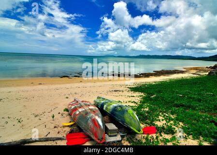 Yonehara Beach, Low Tide,  Empty, Ishigaki, Yahema Islands, Ryukyu Islands, Okinawa, Japan