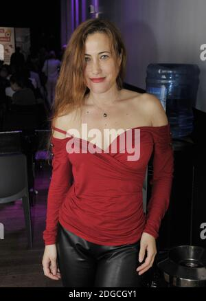 Myriam Charleins attending Madame France 2017 Election Ceremonie at Espace MAS on April 30, 2017 in Paris, France. Photo by Alain Apaydin/ABACAPRESS.COM