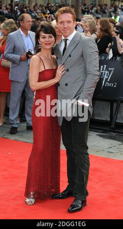 Helen McCrory and Damian Lewis at the World Premiere of ...