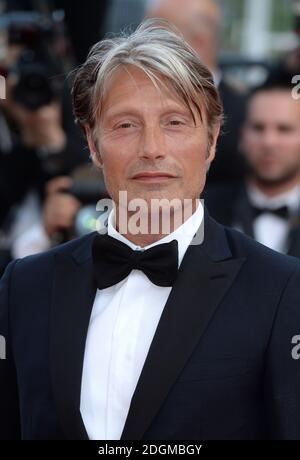 Mads Mikkelsen attending the Loving premiere, held at the Palais De Festival. Part of the 69th Cannes Film Festival in France.