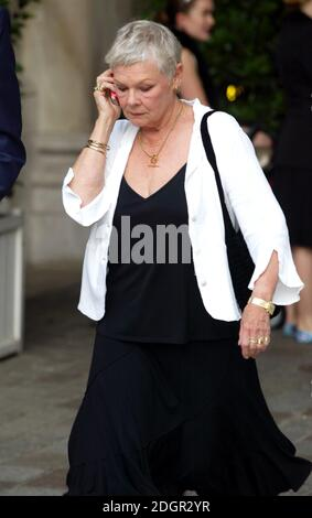 Dame Judi Dench arriving at the Royal Academy of Arts summer exhibition preview party, Piccadilly, London. Doug Peters/allactiondigital.com - Stock Photo