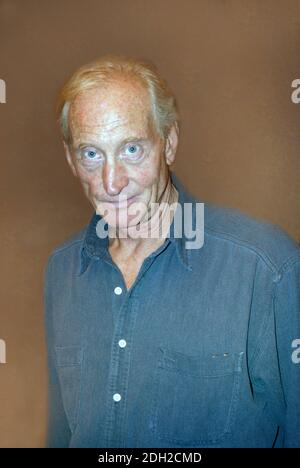 Charles Dance, OBE, English TV, film, stage actor High profile roles include Tywin Lannister in Game of Thrones, The Witcher 3, The Crown, James Bond - Stock Photo