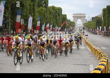 Atmosphere during stage 21 of the 2017 Tour de France in Paris in Paris, France, July 23, 2016. Photo by Jerome Domine/ABACAPRESS.COM