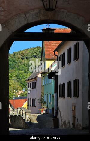 Oberes Tor is a sight of Pappenheim in Bavaria
