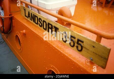 MARITIME PILOT boat in harbor at Landsort in Södermanland south of Stockholm