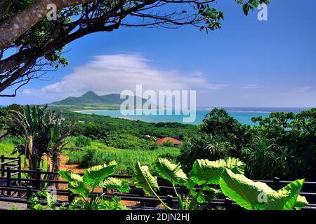 Wide View, From Tamatorizak, Ishigaki, Yahema Islands, Okinawa, Ryukyu Islands, Japan