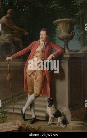 Pompeo Batoni (Italian (Lucchese) - Portrait of John Talbot, later 1st Earl Talbot - Stock Photo