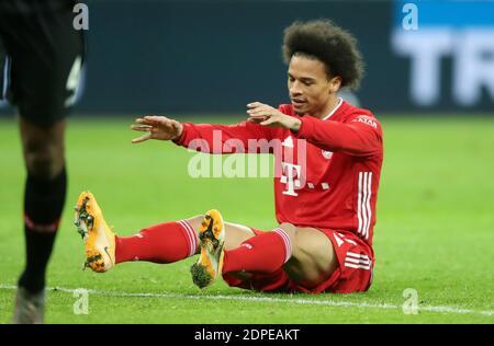 Leroy Sane FC Bayern MŸnchen Leverkusen 19.12.2020  in  BayArena  Bayer Leverkusen vs FC Bayern Muenchen Munich  Football Bundesliga  Fussball 1. Bundesliga Saison 2020 / 2021   © diebilderwelt / Alamy Live News