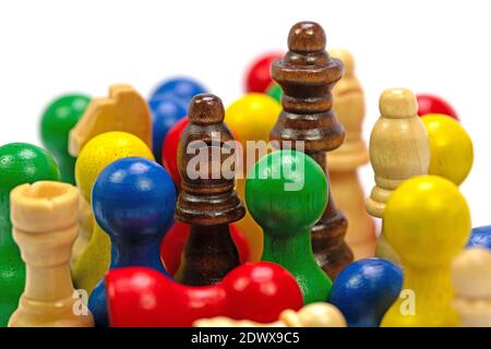 Play figures for various board games