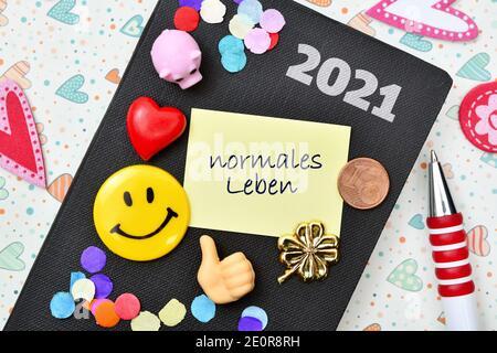 New Years Resolutions, Symbolic Image