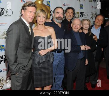 Cary Elwes, Robin Wright, Mandy Patinkin, Chris Sarandon, Wallace Shawn, Carol Kane and Billy Crystal attending 'The Princess Bride' screening during the 2012 New York Film Festival at Alice Tully Hall in New York City, NY, USA, on October 0, 2012. Photo by Brad Barket/ABACAPRESS.COM