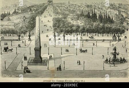 Les merveilles du nouveau Paris- (1867) (14576976760). Stock Photo