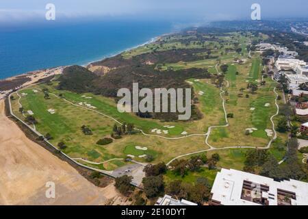 Torrey Pines Golf Course, San Diego, CA, USA