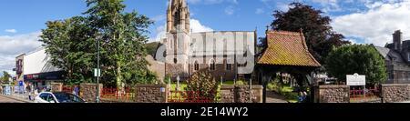 Saint Andrew's Church, High Street, Fort William - Stock Photo