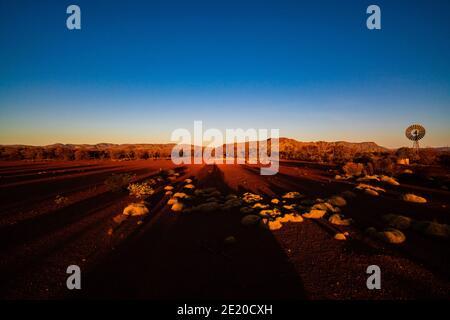Sunset and the Hammersley Ranges, Karijini National Park, Western Australia