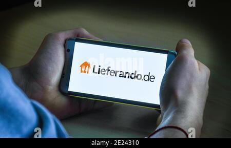 Logo Lieferando