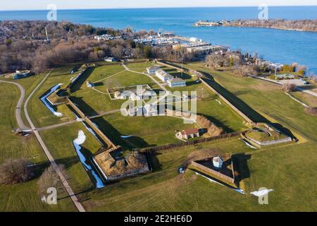Fort George National Historic Site, Niagara-on-the-Lake, Ontario, Canada