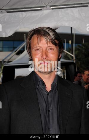 Mads Mikkelsen attending the 'Moomins and the comet Chase' pre screening party on Harle Yacht during the 63rd Annual Cannes Film Festival in Cannes, France on May 14, 2010. Photo by Nicolas Briquet/ABACAPRESS.COM