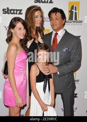 Sylvester Stallone wife Jennifer Flavin and daughters ...