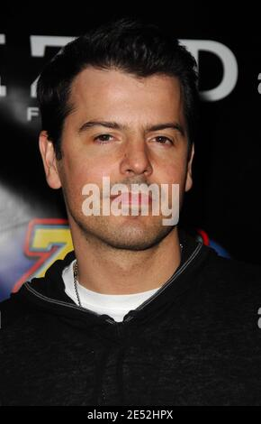 Singer Jordan Knight of New Kids on the Block poses in the press room during Z100's Zootopia at the IZOD Center in East Rutherford, New Jersey, USA on May 17, 2008. Photo by Gregorio Binuya/ABACAUSA.COM (Pictured : Jordan Knight, New Kids on the Block) Stock Photo