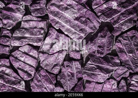 Monochrome surface of granite wall close-up. Natural decorative stone background