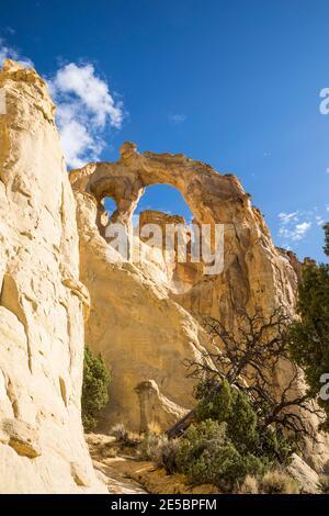 Grosvenor Arch, Grand Staircase-Escalante National Monument, Utah, USA.